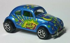 Vintage 1988 Hot Wheels Maylaysia VW Beetle Bug Volkswagen Blue