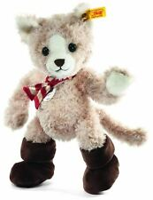 Steiff Tapsy Cat Puss in Boots with Scarf Childrens Soft Toy Gift, 113260