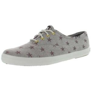 Keds Womens Star Print Low-Top Trainers Fashion Sneakers Athletic BHFO 8674