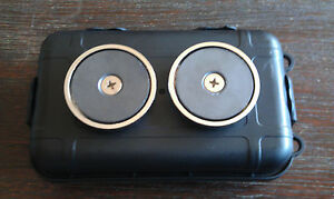 Magnetic Stash Box Secret Storage Diversion Safe Key Cash Hidden Money Travel