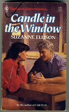 Harlequin SuperRomance #369 CANDLE IN THE WINDOW by Suzanne Ellison (1989)