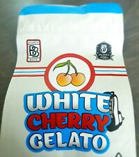 White Cherry Gelato White Mylar Bags x10 3.5g Heat sealable Smell Proof