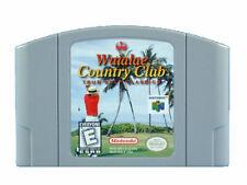 N64 Nintendo 64 jeu module-waialae Country Club de Golf sport