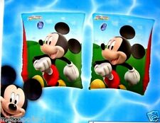 DISNEY MICKEY MOUSE CLUBHOUSE,SWIMMING ARMBANDS,SET OF 2 ARM FLOATS,KIDS 3-6,NEW