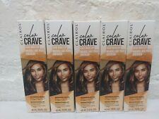 5 Boxes ! Clairol Color Crave Temporary  Hair Makeup SHIMMERING BRONZE 1.5 fl oz