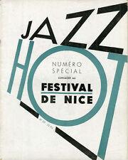 """""""JAZZ HOT N° 20 : SPECIAL FESTIVAL DE NICE (FEVRIER 1948)"""
