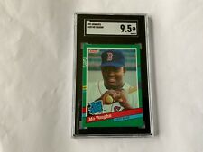 1991 DONRUSS RATED ROOKIE MO VAUGHN RC #430 SGC 9.5 RED SOX