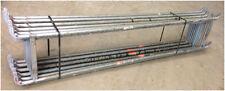 Rückengeländer Stahl doppelt 2,57 m Geländer für Layher/Assco/Alfix/MJ Gerüste