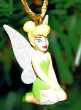 NEW Disney PETER PAN Movie NEVERLAND TINKERBELL FAIRY PVC Christmas Ornament