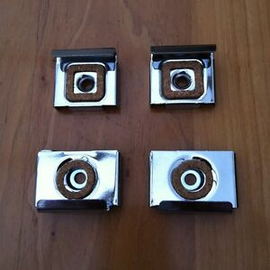 SPRING LOADED MIRROR CLIPS/ BRACKETS CLAMPS PICTURE FIXING PICTURE PLATE SIGNAGE