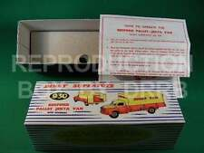 Dinky #930 Bedford Pallet Jekta Van-Reproduction Box par drrb