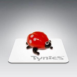 Kay Ladybug Tynies Tiny Glass Figure Figurine Collectible 002