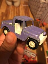 Vintage 1969 Tootsie Toys Purple Truck Made In The Usa