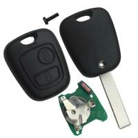 For Peugeot 307 car two-button remote control key housing H3K7 J4B4