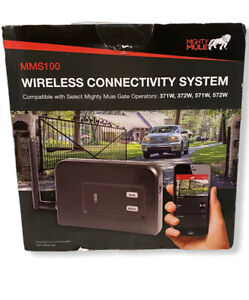 Mighty Mule MMS100 100 Wireless Connectivity System, Black