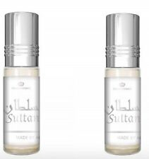 2x Sultan 6ml Por Al Rehab Mejor Vendedor Perfume /Aceite Esencial/ ittar (2 X