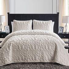 Quilt Comforter Bedding Set King Sand Shell Brown Beach Shells Starfish Seahorse