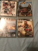 ps3 games lot Of 4 Games