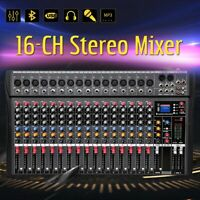 4000 Watts 16 Channel Professional Powered Mixer power mixing Amplifier Amp SK16
