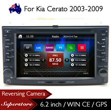 "6.2"" Car DVD Nav GPS Head Unit Stereo Radio For Kia Cerato 2003-2009"