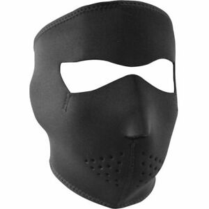 Zan Headgear Black Full Face Mask Motorcycle Snowboarding Ski ATV Neoprene