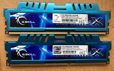 G.SKILL F3-1600C9D-16GXM Ripjaws X Series 16GB (2 x 8GB) 240-Pin SDRAM DDR3 1600
