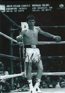 Julio Cesar Chavez Autographed signed photo