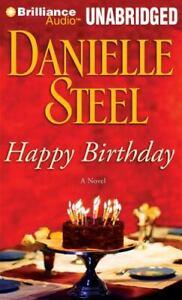 HAPPY BIRTHDAY unabridged audio book on CD by DANIELLE STEEL - Brand New! 8 Hrs!