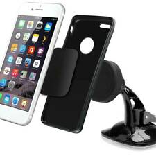 Suction Phone Holder Dashboard Windscreen Universal Mount Rotatable In Car Black
