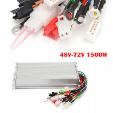 DC Motor Speed Controller 48-72V 1500W For Power Electric Bicycle E-bike Scooter