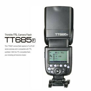 Godox TT685F GN60 2.4G 1/8000s TTL HSS Blitz Aufsteckblitz für Fujifilm Kamera