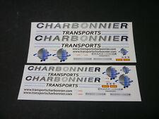 Decalcomanies Transport Charbonnier 1/43 1/50 et 1/87
