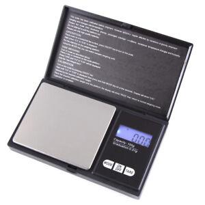 Hochpräzise 0,01g LCD Digital Gold Schmuckwaage Pocket Electronic Scale Waage E