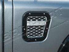 LAND ROVER DEFENDER XS AIR INTAKE GRILLE BLACK WITH SILVER MESH RIGHT DA1970