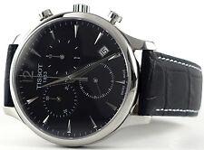 Tissot T0636171605700 Men's Black Dial Tradition Quartz Chronograph Watch - NEW