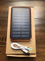 Solar Charger 10000mAh Solar Power Bank Battery