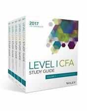 Wiley Study Guide for 2017 Level I CFA Exam: Physical Books Volumes 1 to 5
