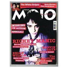 Mojo Magazine February 2002 MBox2376 Richey Edwards Manic Street Preachers