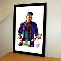 Michael Poulsen Volbeat Metal Rock Music Poster Print Wall Art 11x17