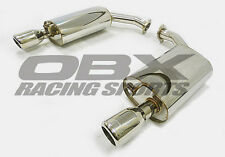 OBX Axle Back Exhaust System 98-05 Lexus GS300/GS400/GS430/Aristo