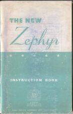 Ford Zephyr Mk 2 Saloon 1956-57 Original Owners Handbook No. X6257/156