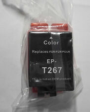 Tinte für Epson Workforce WF 100 W  color farbig T 267 T2670 OVP A
