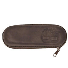 Timberland Authentic Small Hard Sunglasses Eye Glasses Brown Case Pouch Cloth