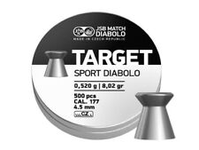 JSB Target Sport Diabolo M 47/08 4.50 mm .177 500 pcs 8.02 gr airgun pellets