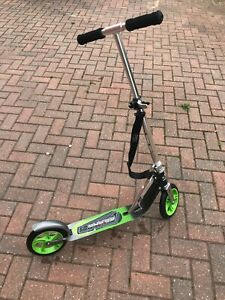 Hudora Big Wheel Scooter G5205, collapsible + carry strap RRP £110 GREAT COND
