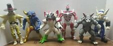"Mighty Morphin Power Rangers Lot of 6 Villains Action Figures Bandai 1993 8"" Fig"