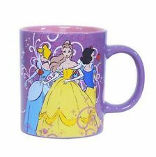 Disney Princess Ceramic 14 oz. Coffee Mug Cinderella Belle Snow White