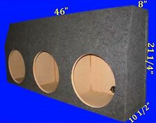 "CHEVROLET CHEVY TAHOE 2000-06 12"" 3 HOLE GREY SUBWOOFER SUB ENCLOSURE BOX"