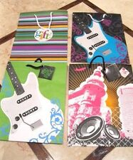 """Lot Of 8 New Large Premium Gift Bags ~ Asst. Designs ~ 12-3/4""""x 10-1/4""""x 4-1/2"""""""