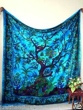 Indian Mandala Wall Hanging Bohemian Tapestry Queen Decor Throw Hippie Bedspread